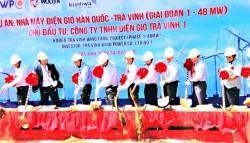 Korea – Tra Vinh Wind Power Project groundbreaking