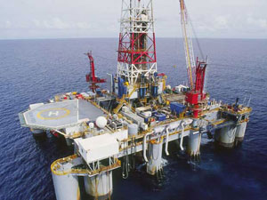 Exploiting 5.68 million tons of crude oil in the four months
