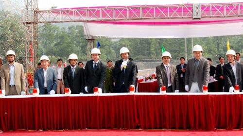 Starting the Underground mining project below -150 of Mao Khe mine