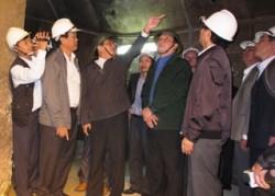 Đoàn công tác Quốc hội kiểm tra thủy điện Sông Tranh 2