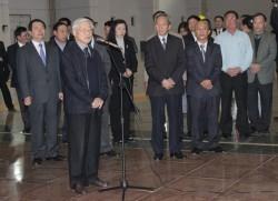 Tổng bí thư yêu cầu đảm bảo vận hành hồ chứa thủy điện Sơn La