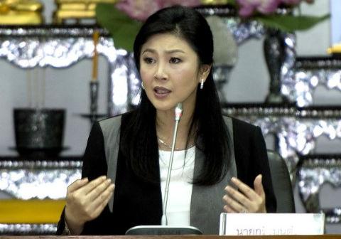 Thủ tướng tạm quyền Thái Lan Yingluck Shinawatra
