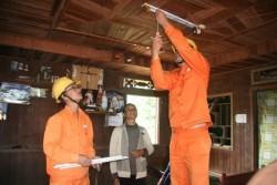 Hoàn thành đầu tư điện cho 3 huyện nghèo của Lai Châu