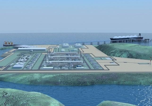 Publishing the nationwide LNG storage planning