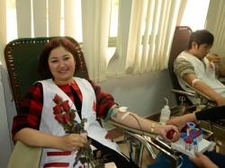 Ngày hội hiến máu tại Công ty thủy điện Sơn La