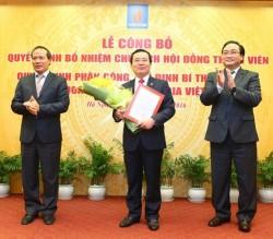 Trao Quyết định bổ nhiệm Chủ tịch Hội đồng thành viên PVN