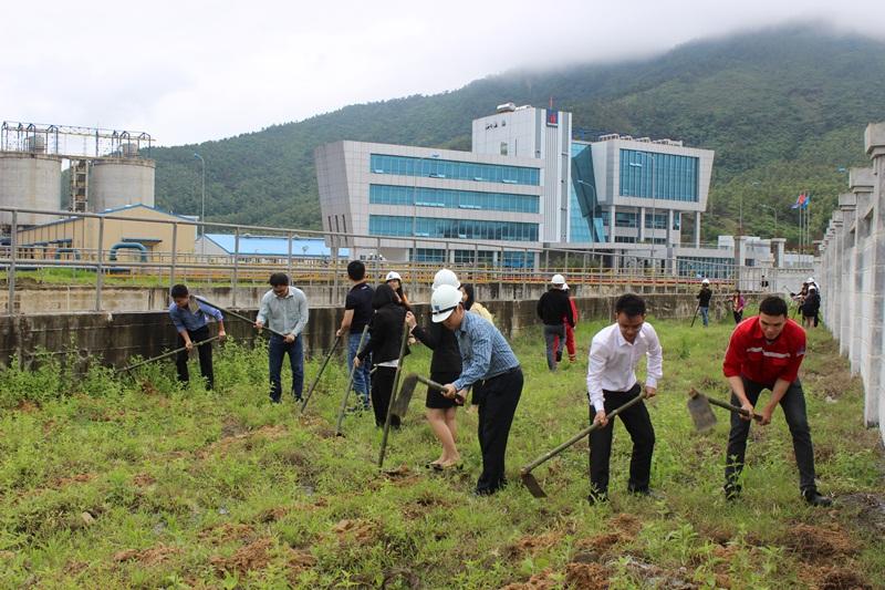 Nhiệt điện Vũng Áng 1: Sản xuất gắn với bảo vệ môi trường 2