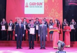 Thứ hạng CADI-SUN được cải thiện trong bảng xếp hạng VNR500