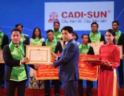 """CADI-SUN được vinh danh tại """"Đêm Doanh nghiệp 2018"""""""