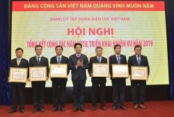 Đảng bộ EVN đã hoàn thành xuất sắc các nhiệm vụ năm 2018