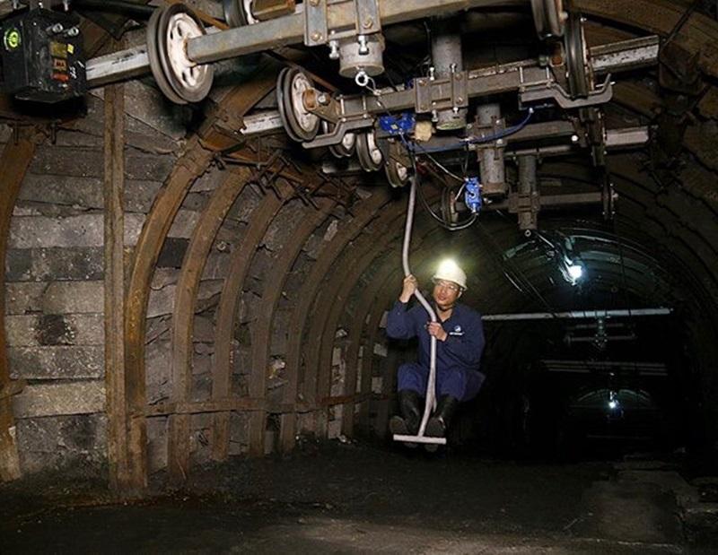 Thêm công trình cải thiện điều kiện làm việc cho thợ mỏ Nam Mẫu 1