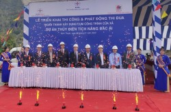 Triển khai thi công dự án Thủy điện Tích năng Bác Ái