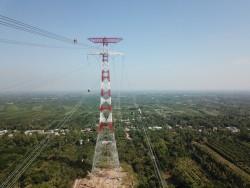 Đóng điện đường dây 500 kV Sông Hậu - Đức Hòa (giai đoạn 1)