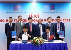 PV GAS và PV OIL ký hợp đồng hợp tác kinh doanh giai đoạn 2021-2025