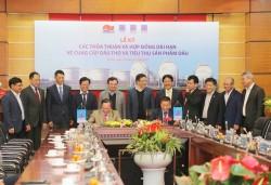 Ký các thỏa thuận, hợp đồng dài hạn về cung cấp dầu thô và tiêu thụ sản phẩm dầu