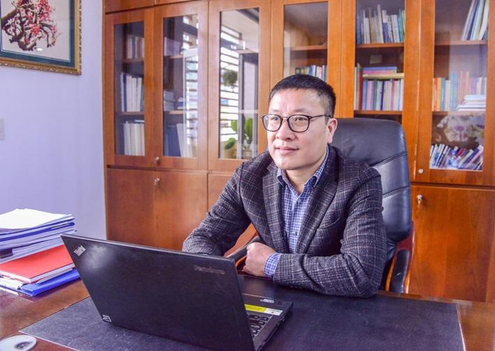 Lãnh đạo EVNGENCO 1 trả  lời phỏng vấn chuyên gia Tạp chí Năng lượng Việt Nam