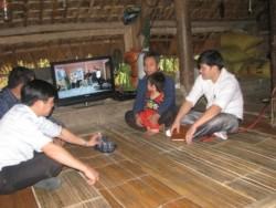 Tết này nhiều bà con dân tộc của tỉnh Yên Bái có điện đón Xuân