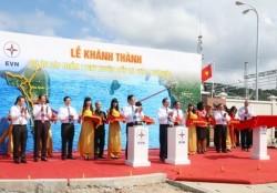 Khánh thành dự án cáp ngầm 110 kV xuyên biển Hà Tiên - Phú Quốc