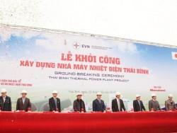 Khởi công xây dựng Nhà máy nhiệt điện Thái Bình