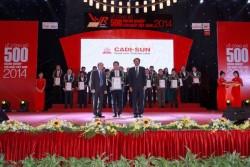 CADI-SUN: Top 500 doanh nghiệp tư nhân lớn nhất Việt Nam