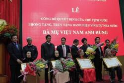 CADI-SUN nhận phụng dưỡng Mẹ Việt Nam Anh hùng