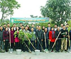 Quacontrol khai xuân và tổ chức tết trồng cây