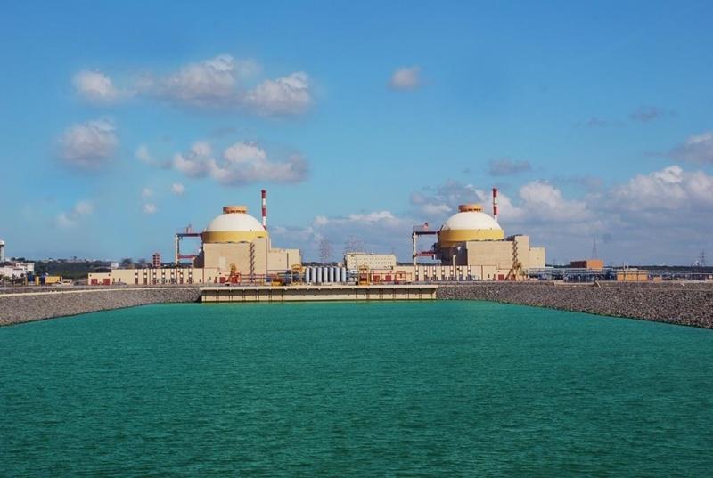 Tổ máy 2 điện hạt nhân Kudankulam đạt 100% công suất 1