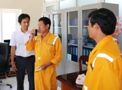 Đo nồng độ cồn với người lao động trên các công trình khí