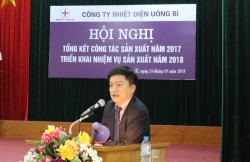 Bốn nhiệm vụ trong tâm của Nhiệt điện Uông Bí năm 2018