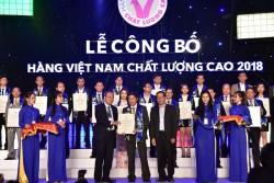 PVFCCo 15 năm liên tiếp được vinh danh Hàng Việt Nam chất lượng cao