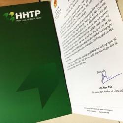 Bộ trưởng Khoa học và Công nghệ gửi thư cảm ơn EVNHANOI