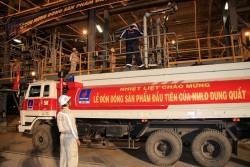 10 năm ngày xuất sản phẩm đầu tiên của Lọc dầu Dung Quất