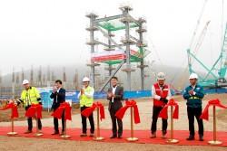 Khởi công lắp đặt kết cấu thép Nhiệt điện Nghi Sơn 2