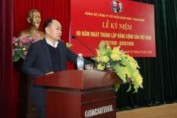 Quacontrol tổ chức lễ kỷ niệm 90 năm thành lập Đảng