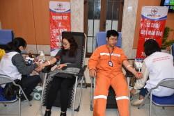 EVNHANOI tổ chức, tham gia hiến máu tình nguyện