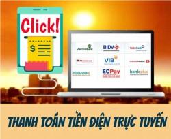 EVNHANOI khuyến khích khách hàng sử dụng dịch vụ điện trực tuyến