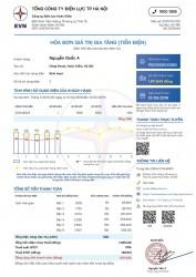 Ban hành mẫu hóa đơn điện tử và thông báo tiền điện mới