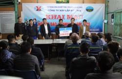 Xây lắp mỏ - TKV tổ chức hội thi Đào lò nhanh năm 2020