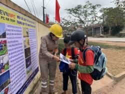 PC Hà Tĩnh tăng cường tuyên truyền an toàn điện