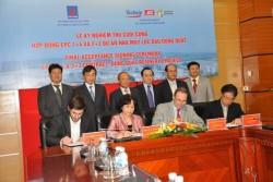 Ký nghiệm thu cuối cùng Hợp đồng EPC Dự án Nhà máy Lọc dầu Dung Quất