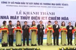 Khánh thành thủy điện cột nước thấp đầu tiên của Việt Nam
