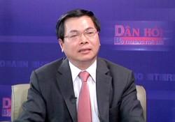 Bộ trưởng Vũ Huy Hoàng: