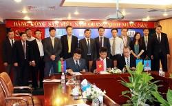 Ký hợp đồng cung cấp dầu thô dài hạn cho NM lọc dầu Dung Quất