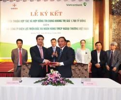 EVN NPC và VCB ký thỏa thuận hợp tác