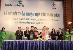 EVN và Vietcombank ký thỏa thuận hợp tác toàn diện