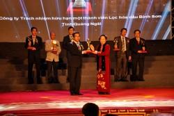 BSR và PTSC M&C đạt Giải thưởng Chất lượng Quốc gia 2013