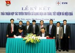 Trung ương đoàn và EVN hợp tác tuyên truyền điện tiết kiệm