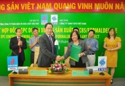 PVFCCo ký hợp đồng EPC xây dựng xưởng sản xuất hóa chất