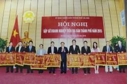 CADI-SUN được TP Hà Nội trao cờ thi đua xuất sắc 2014