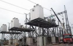 Đóng điện tụ bù dọc trạm biến áp 500kV Nho Quan